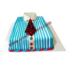 Handsome guys Shirt cake (2 kg)